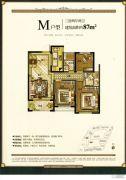 德信・海派公馆3室2厅2卫0平方米户型图