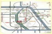 元邦明月水岸交通图