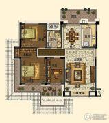 中交・南山美庐3室2厅1卫120平方米户型图