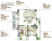 万科青岛小镇2室2厅1卫0平方米户型图