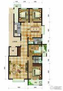 帝王国际4室2厅2卫176平方米户型图
