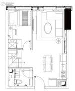 广晟万博城3室2厅2卫57平方米户型图