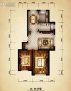 盛世温泉嘉苑0室0厅0卫100平方米户型图