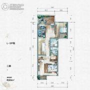 大汉汉园99平方米户型图