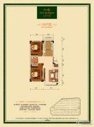 汇银东第2室2厅1卫64--114平方米户型图