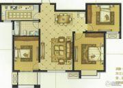紫薇壹�3室2厅1卫114平方米户型图