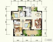 九洲跃进路19583室2厅2卫129平方米户型图