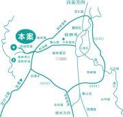 桂林罗山湖国际旅游休闲度假区交通图