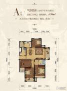 自游港港府4室2厅2卫0平方米户型图