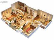 中央广场2室2厅1卫0平方米户型图