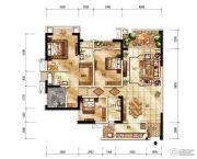 紫御江山4室0厅0卫0平方米户型图