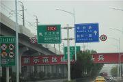 绿地悦峰公馆交通图