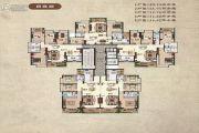 兴业家园4室2厅2卫140平方米户型图
