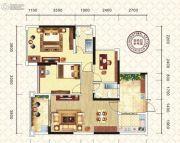 万昌东方巴黎2室2厅2卫97平方米户型图