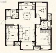 万科城3室2厅2卫115平方米户型图