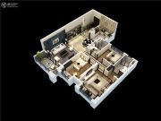 碧桂园剑桥郡3室2厅2卫102平方米户型图