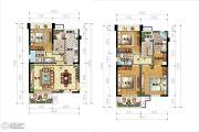IBOX-部落阁4室2厅3卫99平方米户型图