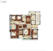 江湾城二期5室2厅3卫240平方米户型图