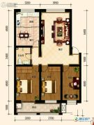 古御壹号3室2厅1卫113平方米户型图