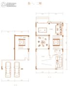 御景南山4室1厅1卫0平方米户型图