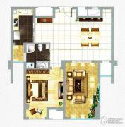 融信新新家园1室1厅1卫81平方米户型图
