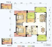 春风紫金港2室2厅1卫99平方米户型图