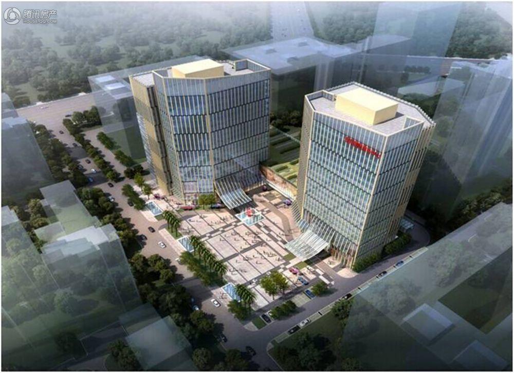荣华·国际中心鸟瞰图