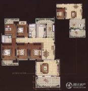 嘉城尚郡4室2厅2卫196平方米户型图
