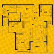 恒生・光合城3室2厅2卫112--116平方米户型图
