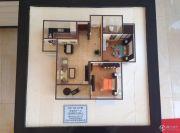 栖里凤台山庄2室2厅1卫90平方米户型图