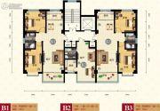 天健凤凰城1室1厅1卫37平方米户型图