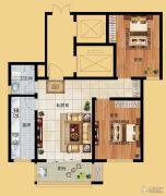 香榭丽都2室1厅1卫92平方米户型图
