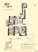 海晟闽江印象4室2厅2卫178平方米户型图