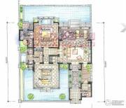 东和福湾2室2厅2卫0平方米户型图