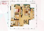 金科天宸0室0厅0卫63平方米户型图