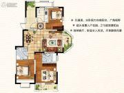 天翔茗苑3室2厅2卫117--138平方米户型图