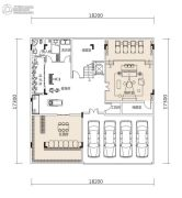 东方紫园0平方米户型图
