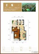水钢琴2室2厅1卫86平方米户型图