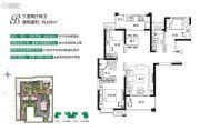 海伦春天3室2厅2卫108平方米户型图