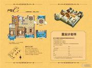 中南世纪雅苑3室2厅2卫110平方米户型图