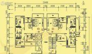 中兴紫麟城3室2厅2卫131平方米户型图