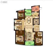 保利达江湾城3室2厅3卫179平方米户型图