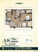 银滩阳光里3室2厅2卫0平方米户型图