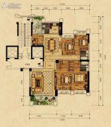 尚东一品5室2厅3卫0平方米户型图