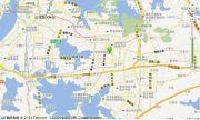 光谷坐标城九台交通图