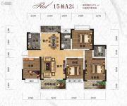 天元・美居乐3室2厅2卫147平方米户型图