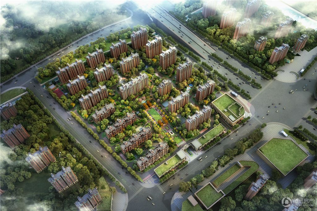 中环国际公寓三期 效果图