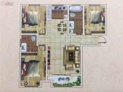 六和世家3室2厅2卫120--121平方米户型图
