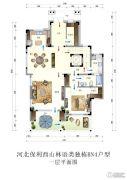 保利西山林语4室3厅5卫481平方米户型图