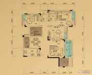 鲁能领秀城3室2厅2卫101平方米户型图